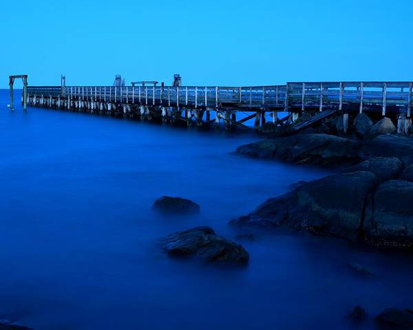 Photograph - Salem Willow Pier by Toby McGuire