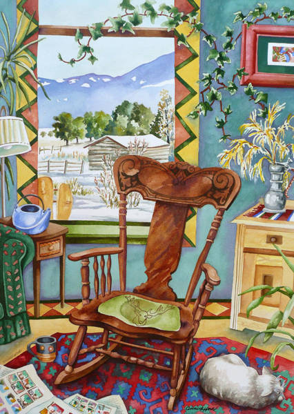 Painting - Salida Sunday Morning by Anne Gifford