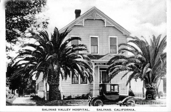 Photograph - Salinas Valley Hospital Circa 1920 by California Views Archives Mr Pat Hathaway Archives