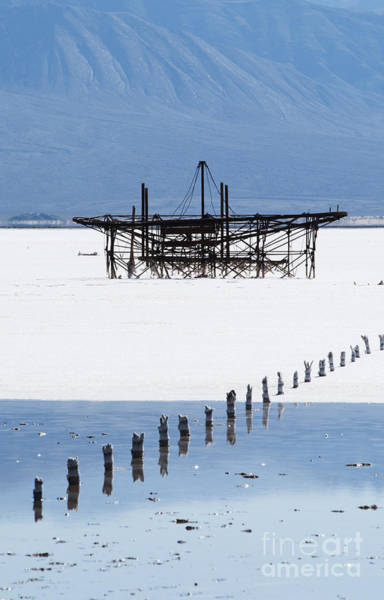 Photograph - Saline Valley Salt Mining by Dan Suzio