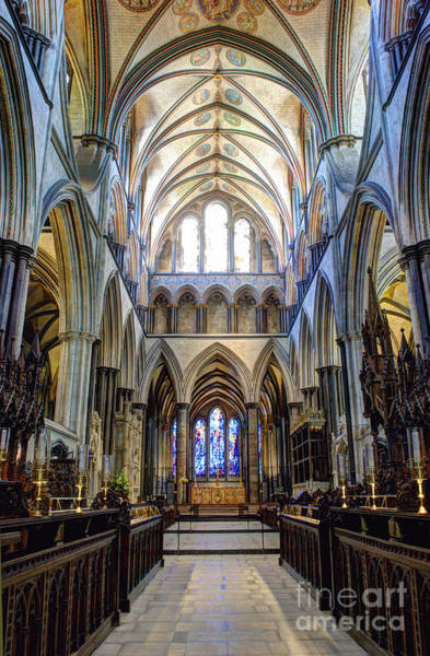 Photograph - Salisbury Cathedral by Juli Scalzi