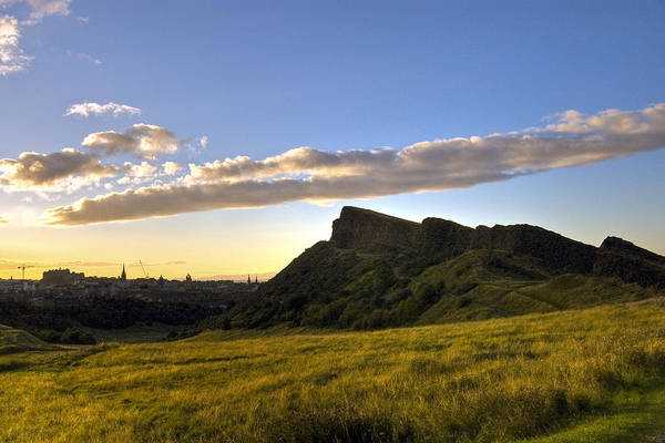 Photograph - Salisbury Crags by Ross G Strachan