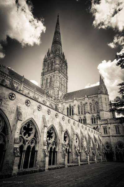 Photograph - Salisbury - For Eugene Atget by Ross Henton