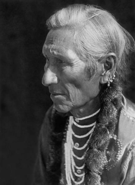1910 Photograph - Salish Indian  Circa 1910 by Aged Pixel