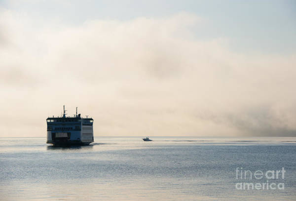 Port Townsend Photograph - Salish Into The Fog by Mike  Dawson