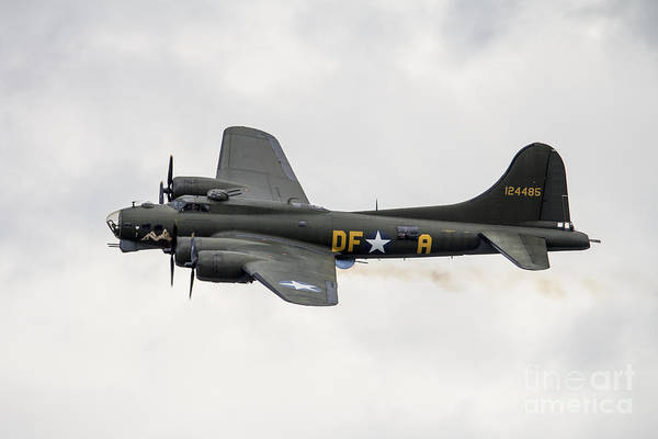 B-17 Bomber Photograph - Sally B by J Biggadike