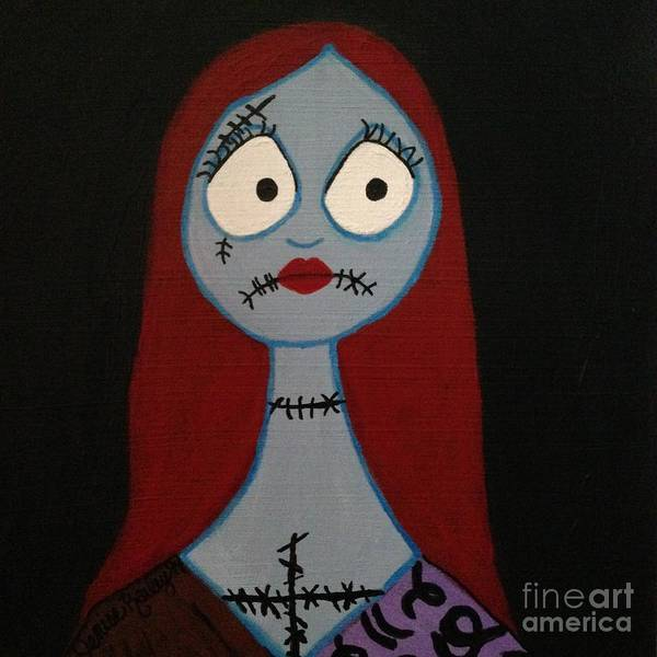 Sally Waits For Jack Art Print