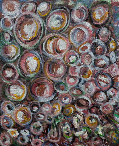 Spawn Painting - Salmon Spawn by Doug LaRue