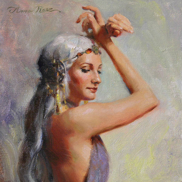 Wall Art - Painting - Salome by Anna Rose Bain