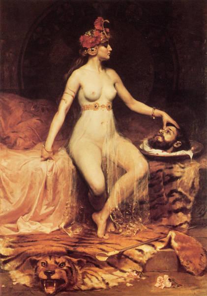 Boudoir Digital Art - Salome by Pierre Bonnaud