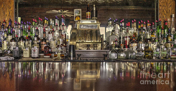 Whiskey Hill Wall Art - Photograph - Saloon Register  by Rob Hawkins
