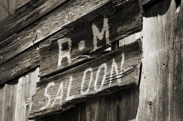 Ok Wall Art - Photograph - Saloon by Ricky Barnard