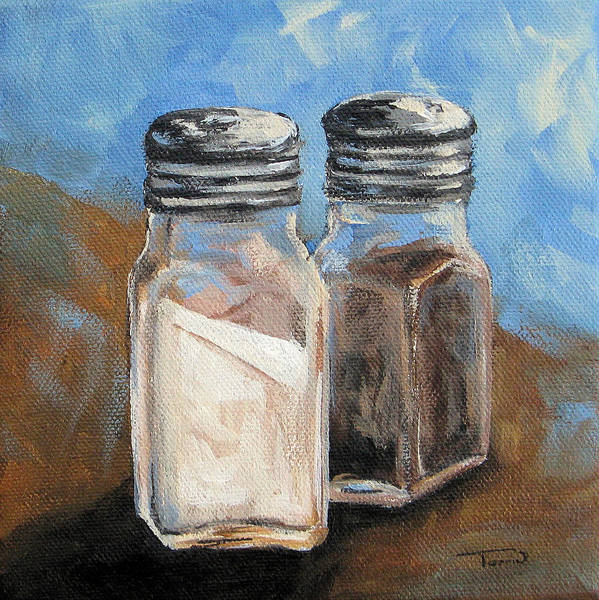 Painting - Salt And Pepper Iv by Torrie Smiley