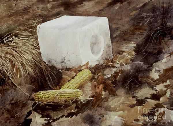 Painting - Salt Block by Monte Toon