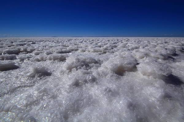Bolivia Photograph - Salt Crystals by FireFlux Studios