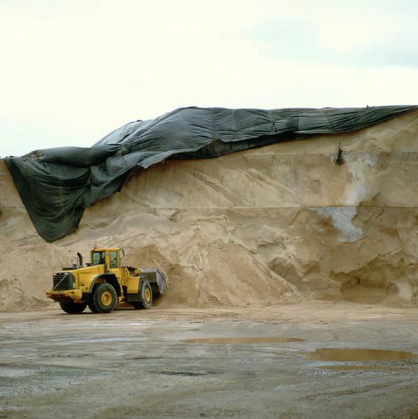 Wall Art - Photograph - Salt Digger by Robert Brook/science Photo Library