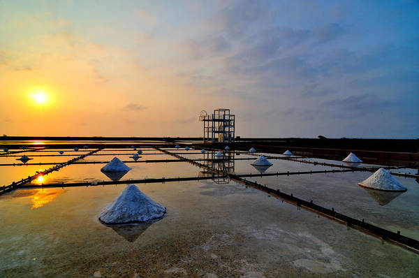 Wall Art - Photograph - Salt Field by Photo By Vincent Ting