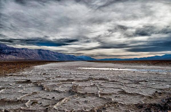 Death Valley National Park Photograph - Salt Flats by Cat Connor