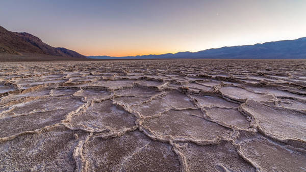 Photograph - Salt Formations Of An Ancient Lake by Pierre Leclerc Photography