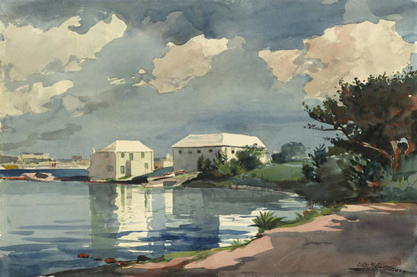 Wall Art - Painting - Salt Kettle Bermuda by Winslow Homer