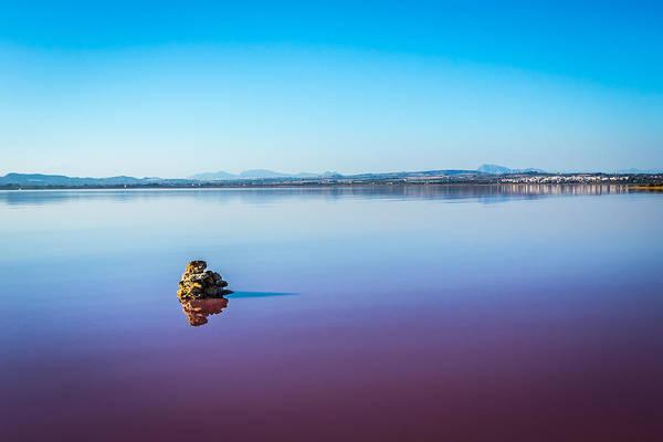 Photograph - Salt Lake Torrevieja. by Gary Gillette