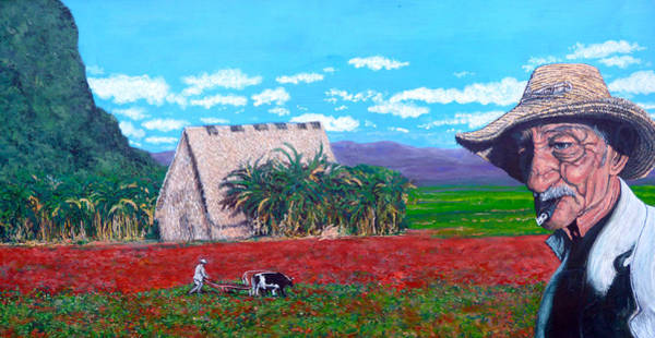 Painting - Salt Of The Earth by Tom Roderick