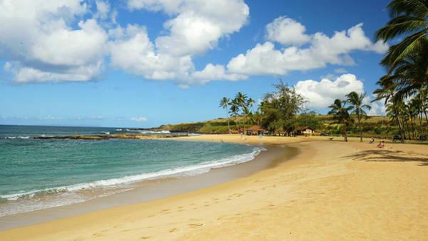 Salt Pond Photograph - Salt Pond Beach, Park, Hanapepe, Kauai by Douglas Peebles