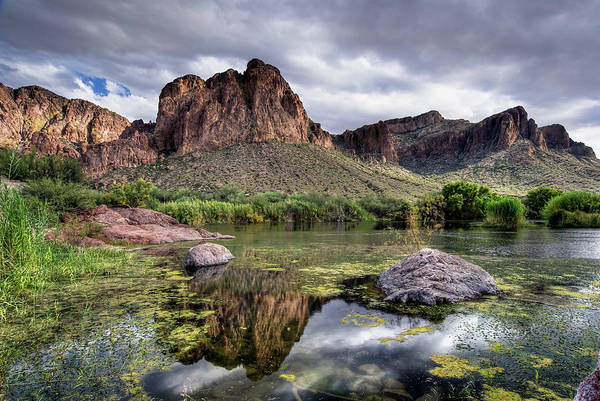 Maricopa Photograph - Salt River, Arizona by Image By Sean Foster
