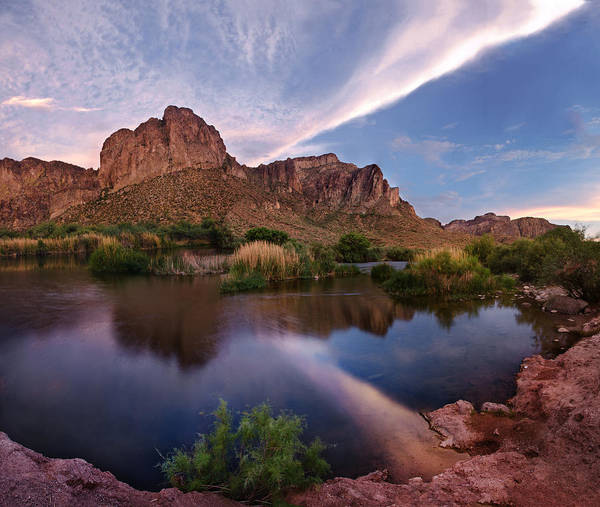Photograph - Salt River Clouds by Dave Dilli