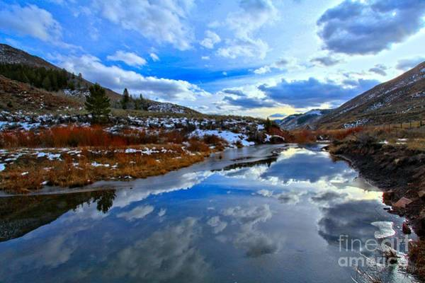 Photograph - Salt River Reflections by Adam Jewell