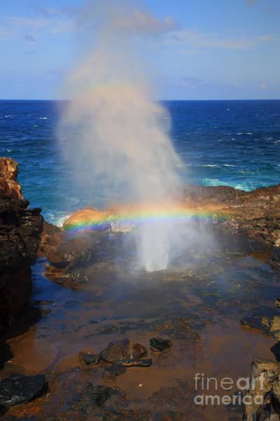 Wall Art - Photograph - Salt Spray Rainbow by Mike  Dawson