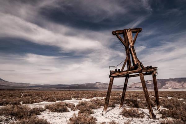 Photograph - Salt Tram by Cat Connor