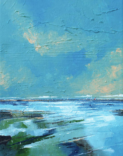 Skyscape Painting - Salthouse Iv by Stuart Roy