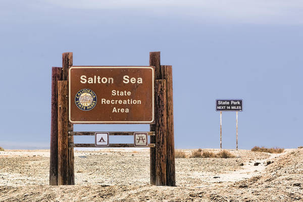 Digital Art - Salton Sea State Recreation Area by Photographic Art by Russel Ray Photos