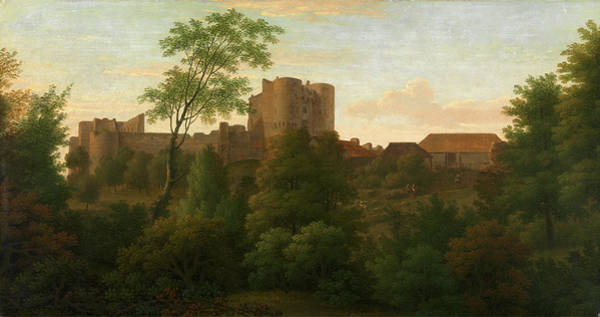 Wall Art - Painting - Saltwood Castle Signed And Dated by Litz Collection