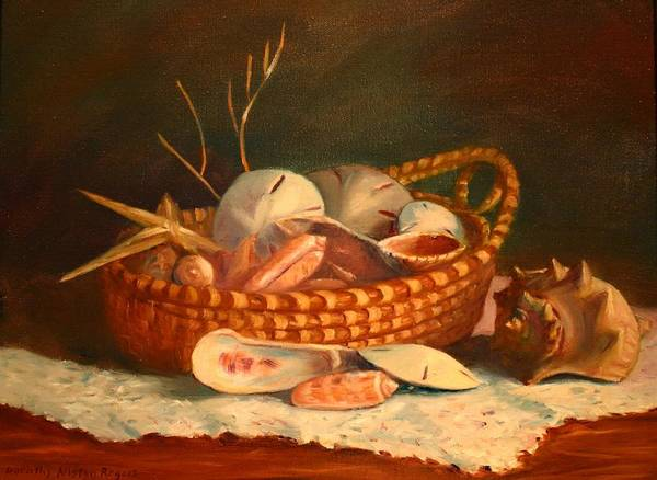 Painting - Salty And Sweet by Dorothy Allston Rogers