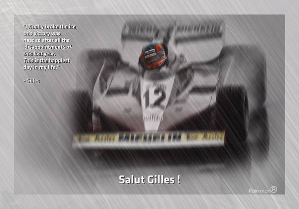 Montreal Digital Art - Salut Gilles by Stephane Trahan