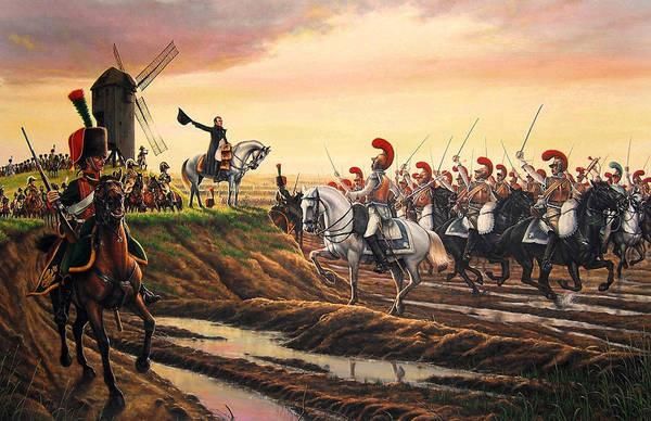 Napoleon Wall Art - Painting - Salute To Napoleon by Dan Nance