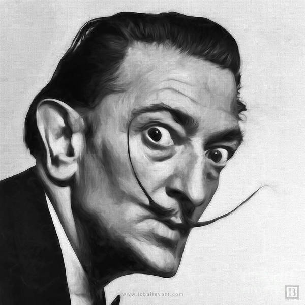 Dali Digital Art - Salvador Dali by Lonnie Christopher