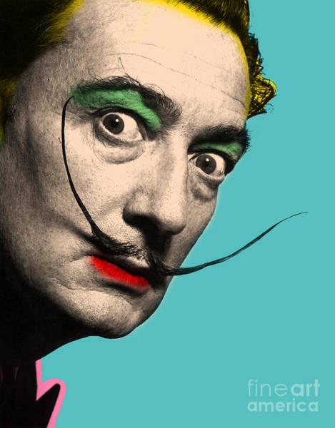 Dali Digital Art - Salvador Dali by Mark Ashkenazi