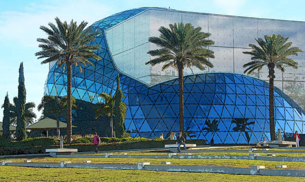 Wall Art - Photograph - The Salvador Dali Museum by HH Photography of Florida