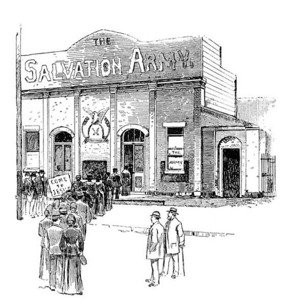 Wall Art - Painting - Salvation Army, 1891 by Granger