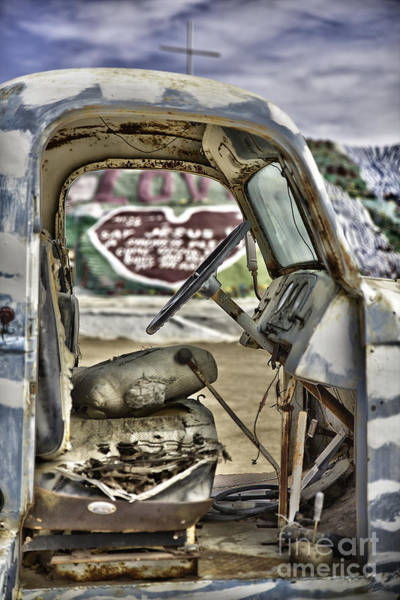 Wall Art - Photograph - Salvation Mountain  by F Icarus