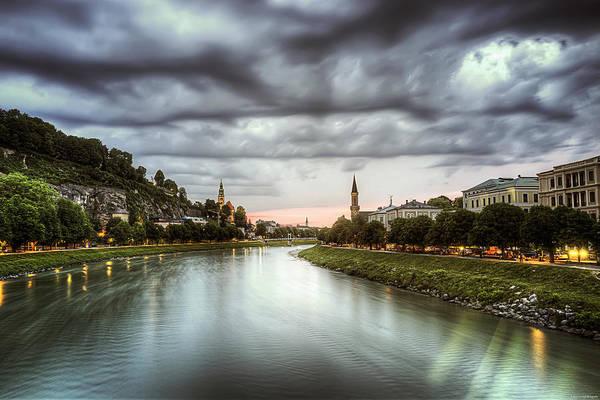 Photograph - Salzach River by Ryan Wyckoff