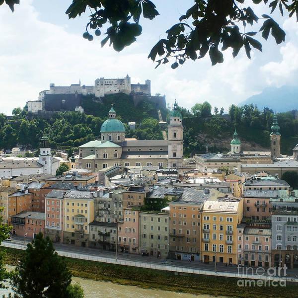 Wall Art - Photograph - Salzburg Austria Old Town 3 by Rudi Prott