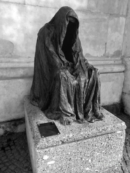Photograph - Salzburg Ghost Staue by Gregory Dyer
