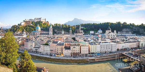 Mozart Photograph - Salzburg by JR Photography
