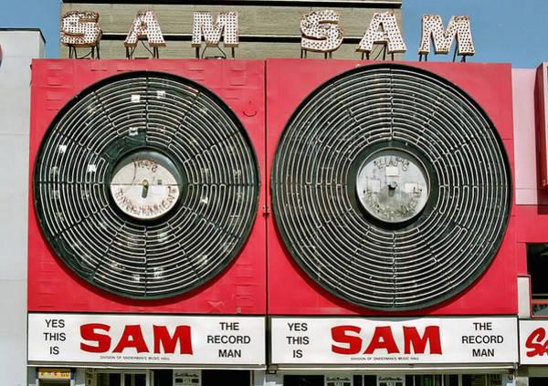 Sam The Record Man Art Print