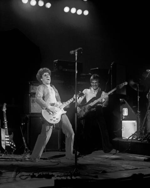 Photograph - Sammy And Bill On Stage In Spokane In 1977 by Ben Upham