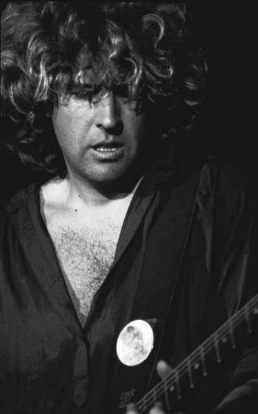 Photograph - Rocking On His Guitar In 1978. by Ben Upham